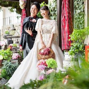 Bridal On Water COTSWOLDS(コッツウォルズ) ガーデンの中で自然と笑顔に♡