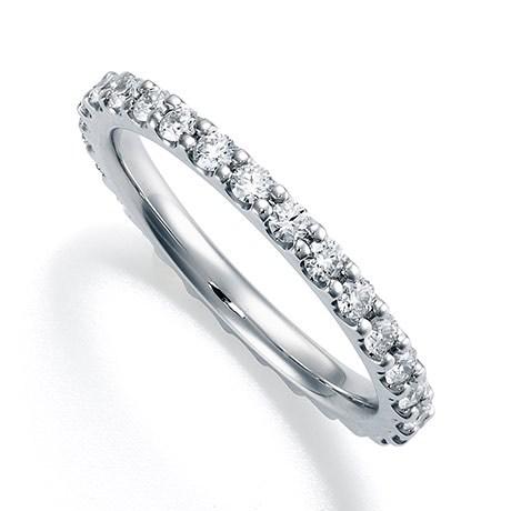 結婚指輪 フルエタニティ